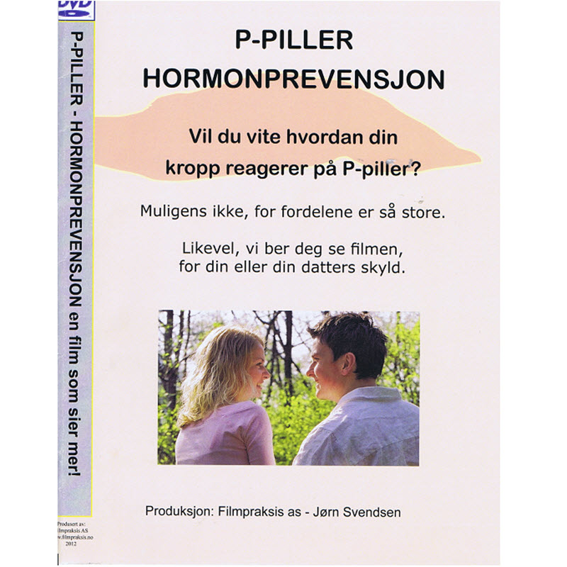 P-Piller Hormonprevensjon. DVD med faglige bidrag og brukerintervjuer.