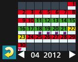 SS Kalendervisning