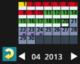 SS M kalender